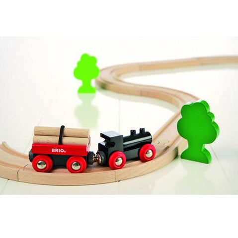 Brio wooden train set | Lucas loves cars