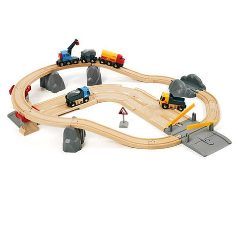 Brio road and rail set | Lucas loves cars