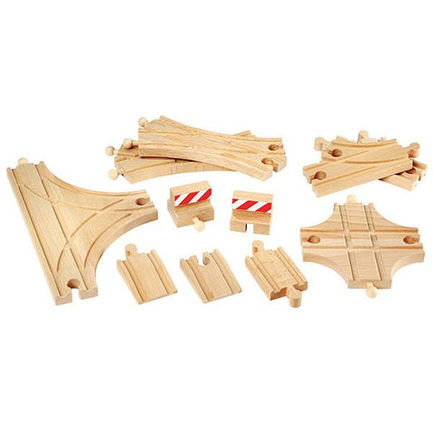 BRIO Train - Wooden track extension pack - advanced | Brio |  Lucas loves cars