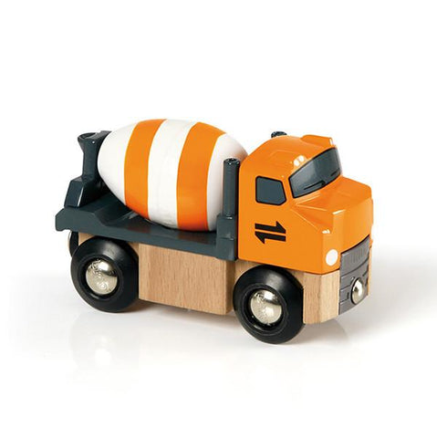 BRIO Train -  cement mixer | Brio |  Lucas loves cars