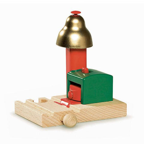 Brio Magnetic Bell Train Signal | Brio trains | Lucas Loves Cars