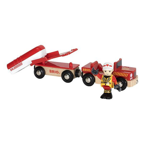 BRIO Train - Rescue Boat