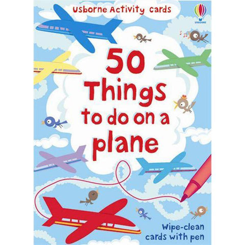 50 things to do on a plane | Lucas loves cars
