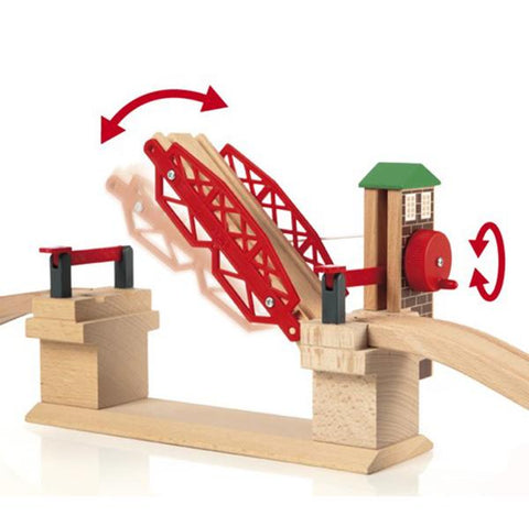 Brio Train | Lifting Bridge |  wooden train toys | Lucas Loves Cars