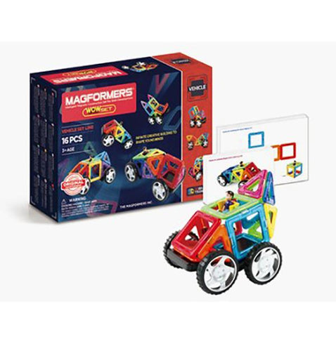 MAgformers Magnetic tiles | Australian toy stores |  Lucas loves cars
