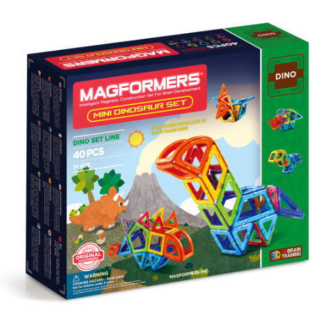 MAgformers | Dinosaurs | Lucas loves cars
