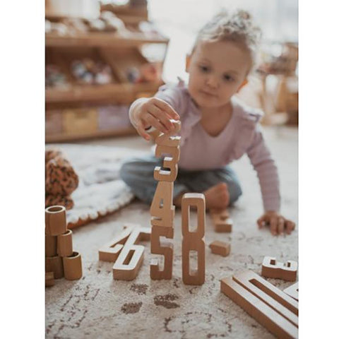 Astrup Wooden Stacking Numbers