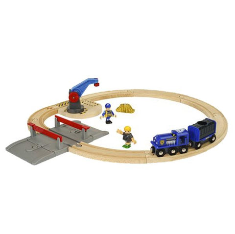 BRIO Train -  Police Transport set