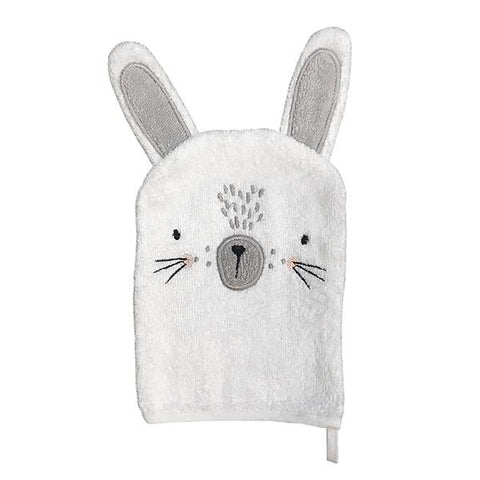 Mister Fly - Bunny (White) Wash Mitt