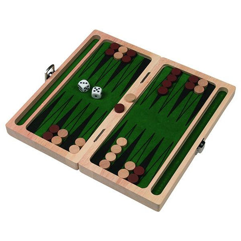 Goki toys | Wooden Backgammon | Lucas loves cars