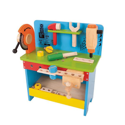 Powertools Work Bench | BigJigs wooden toys | Lucas loves cars