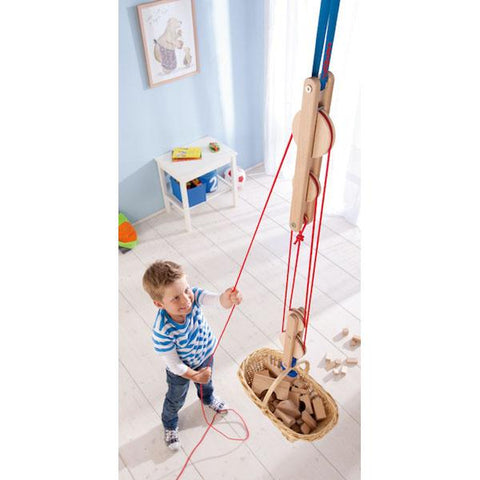 Block and Tackle Pulley | HABA |  Lucas loves cars