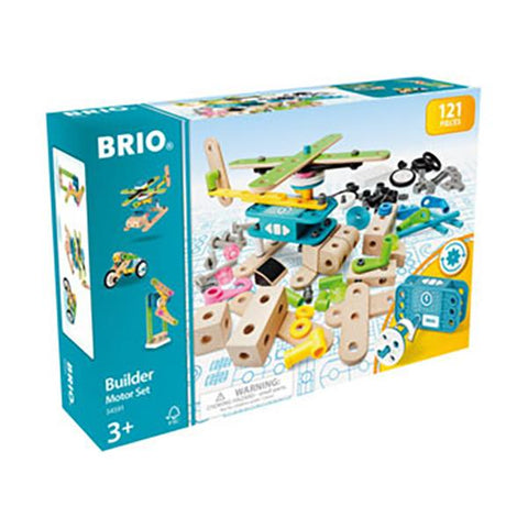 Brio Builder Motor Set | Brio toys | Lucas Loves Cars