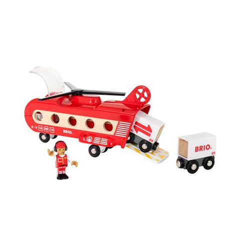 Brio | Cargo Transport Helicopter | Wooden planes | Lucas Loves Cars