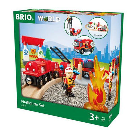 Brio Firefighter | Brio trains | Lucas loves cars