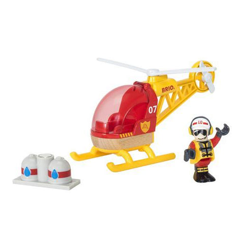 Brio Firefighter Helicopter | Toy helicopter | Firefighter | Lucas Loves Cars