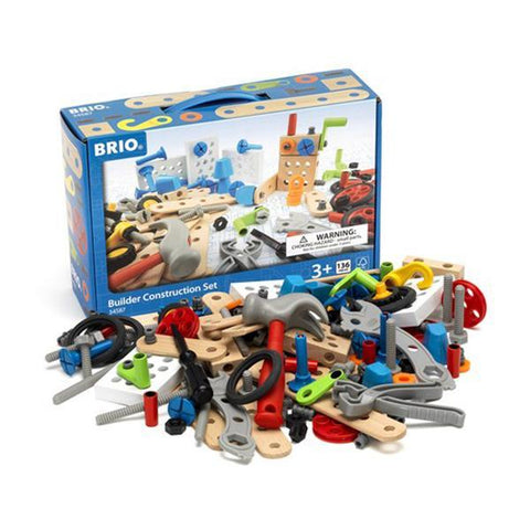 Brio Stem construction set |  Brio toys | Wooden construction toy | Lucas Loves Cars
