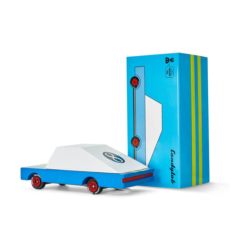 Candycab mini Blue Racer | Candylab car toys | Lucas loves cars