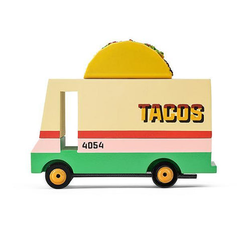 CandyLab Taco Truck  | Candylab toy cars  | Lucas loves cars