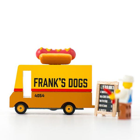 CandyLab Hot Dog Van toy  | Candylab car toys | Lucas loves cars