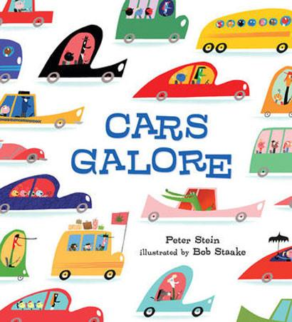 Cars Galore book | Lucas loves cars