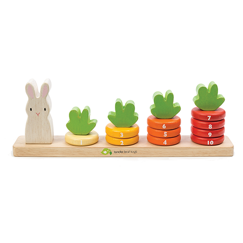 Counting Carrots | Tender Leaf Toys |  Lucas loves cars
