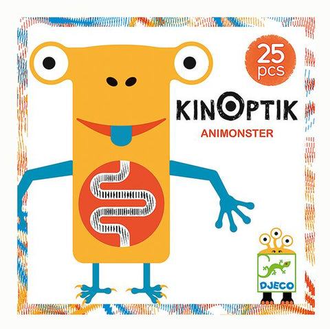 Kinoptik Animonster | Djeco | Lucas loves cars