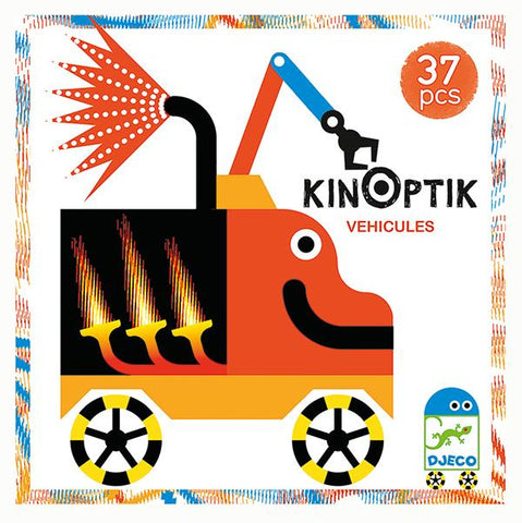 Kinoptik Wacky Vehicles | Car Puzzle | Djeco | Lucas loves cars