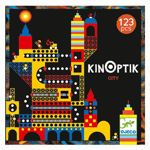 Kinoptik crazy city | Djeco | Lucas loves cars
