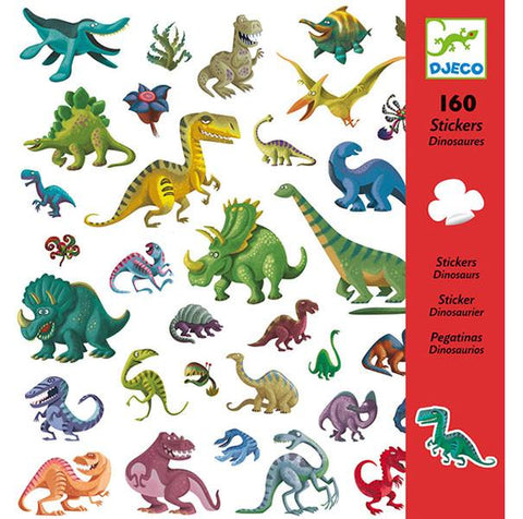 Djeco Stickers - Dinosaurs | Djeco |  Lucas loves cars