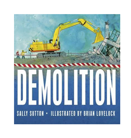Demolition book | Brumby Sunstate - supplier |  Lucas loves cars
