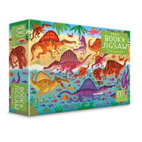 Dinosaur jigsaw and book | Dinosaur puzzle   | Dinosaur toys | Lucas loves cars