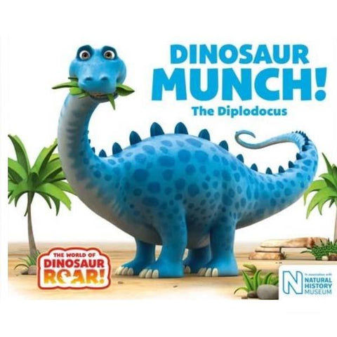 Dinosaur Munch! The Diplodocus | Brumby Sunstate - supplier |  Lucas loves cars
