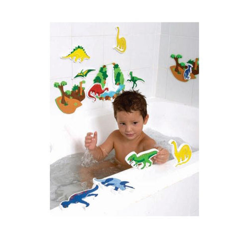 Dinosaur bath toys | Lucas loves cars