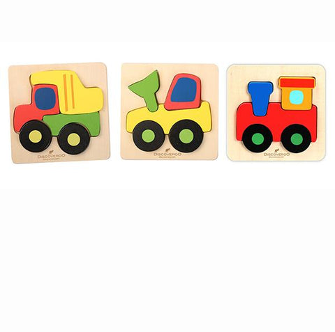 Super Chunky Vehicles Puzzles