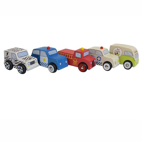 Emergency Cars - set of 5 | Discoveroo |  Lucas loves cars