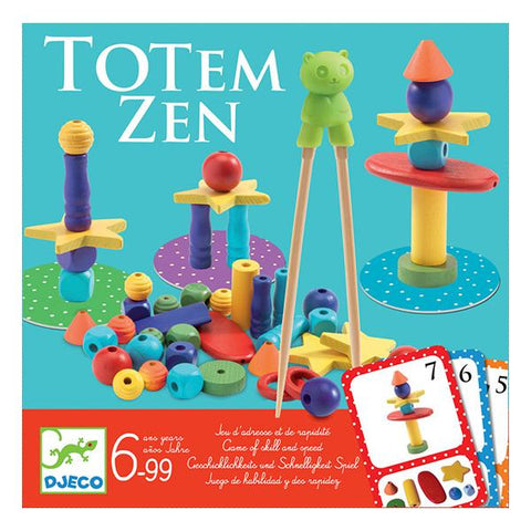 Djeco toys | Totem Zen Game |  Lucas Loves Cars