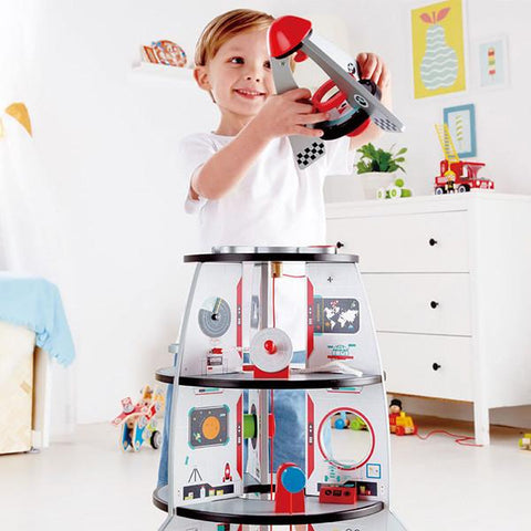 Hape rocket ship | Lucas loves cars