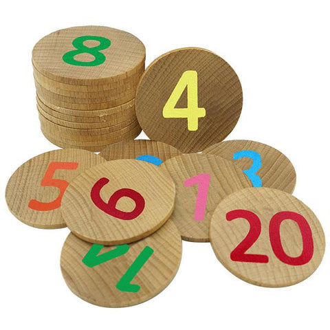Wooden number matching pairs | Educational toys for kids | Lucas loves cars
