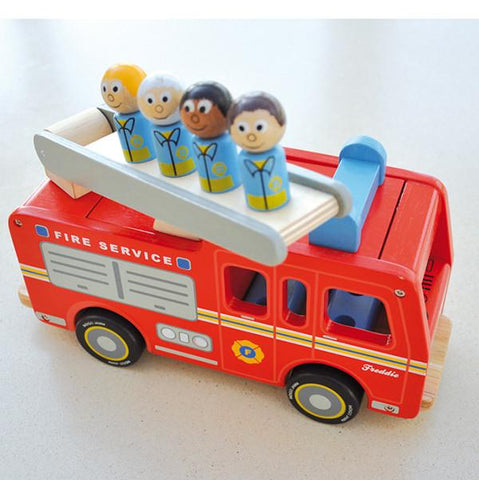 Freddie Fire Engine | Indigo Jamm | Lucas loves cars