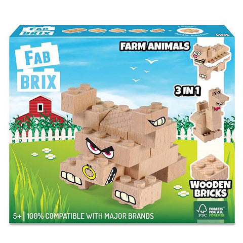 FabBrix Farm Animals | Eco friendly toys | Lucas loves cars
