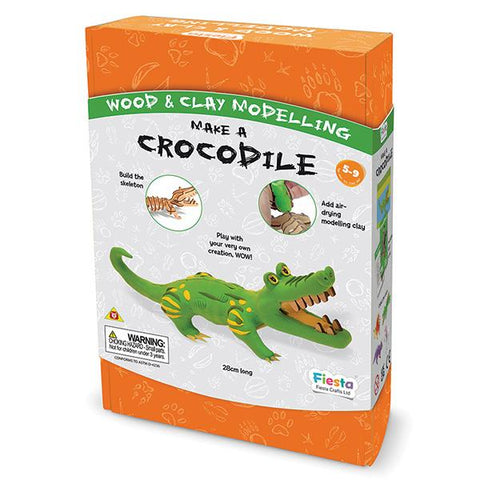 Make a Crocodile | Kids Craft toys | Fiesta Crafts | Lucas loves cars