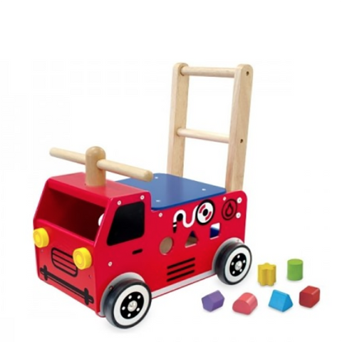 Fire Engine Shape sorter | Im Toys | Lucas loves cars
