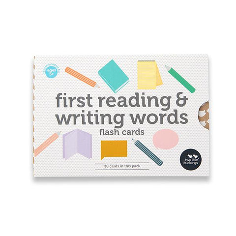 First reading writing cards | Kids writing | Two Little Ducklings | Lucas loves cars