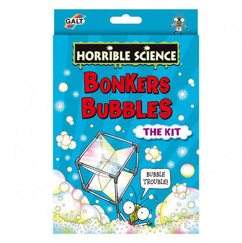Horrible Science kit | Bonkers Bubbles  | Lucas loves cars