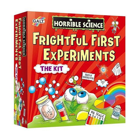 Frightful First Science Experiments | Kids STEM toys | Lucas loves cars