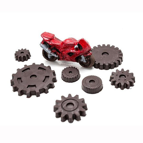 Chocolate moulds Gears | Lucas loves cars