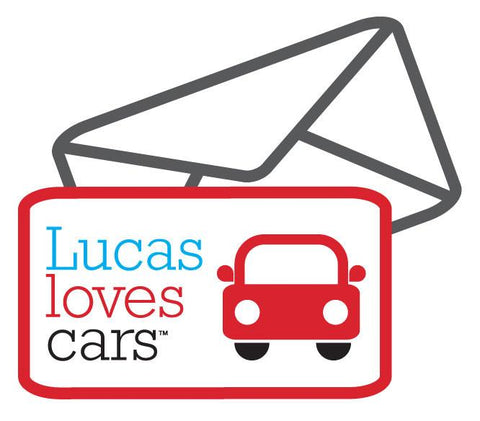 Gift Voucher | Lucas Loves Cars |  Lucas loves cars