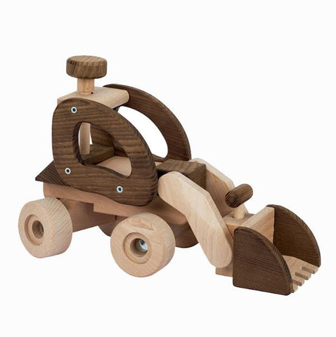 Goki nature bulldozer | Wooden toys | Lucas loves cars