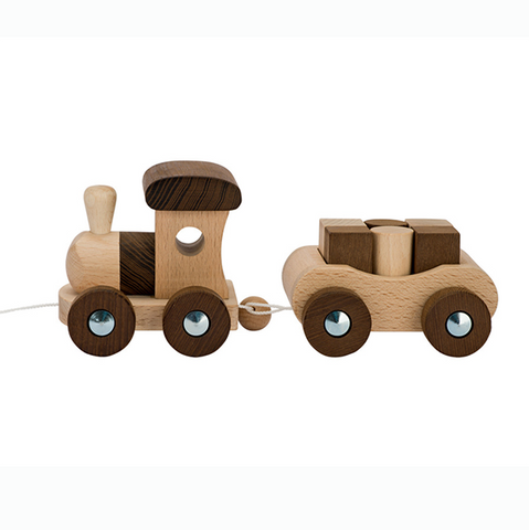 Goki Nature |  Wooden Train | Lucas loves cars